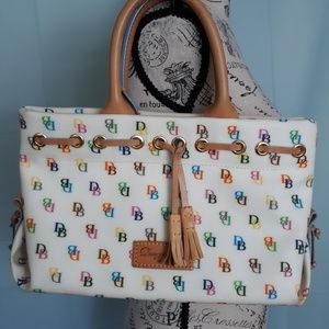 DOONEY & BOURKE SIGNATURE TASSEL TOTE